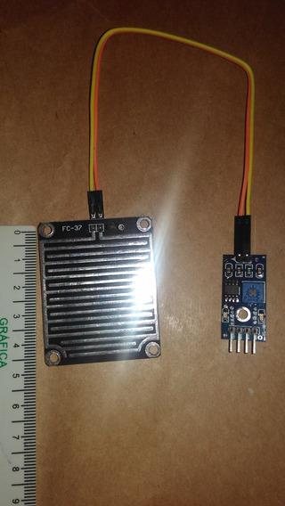 Arduino Sensor Chuva Agua Gotas Liquido Pingos Frete 9,00