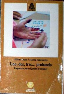 Uno, Dos, Tres... Probando - Kozak, D.; Kriscautzky, M.