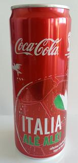 Lata Coca-cola Italia - Mundial Brasil 2014