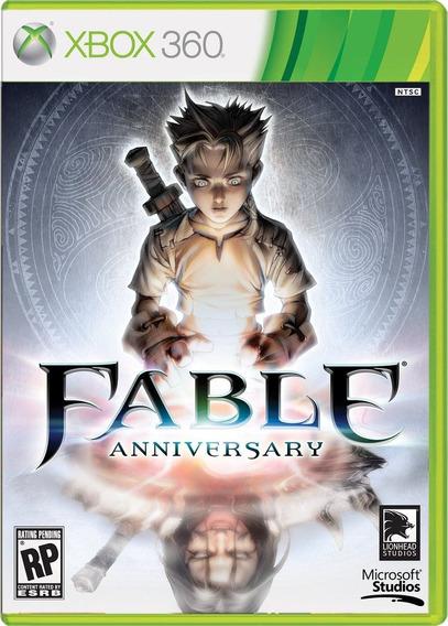 Fable Anniversary Xbox 360 / Xone Mídia Física Lacrado