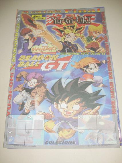 Álbum Yu-gi-oh! X Dragonball Gt. Incompleto.