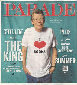 Jornal Importado Parade: Stephen King / Michael Caine !!