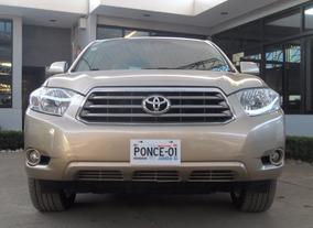 Toyota Highlander Limited Awd 2010