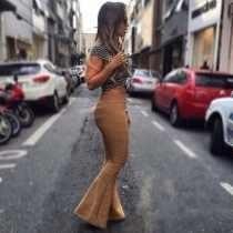 Kit 10 Moda Feminina Primavera Verão Calça Bandagem Fique