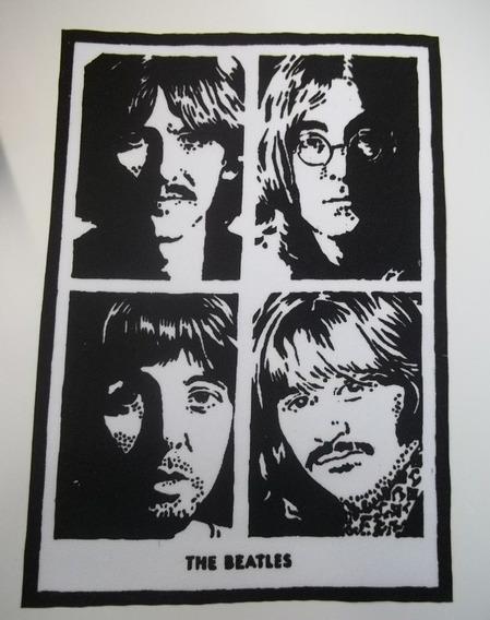 The Beatles White Album Patche Costurar Roupa Jaqueta Camisa