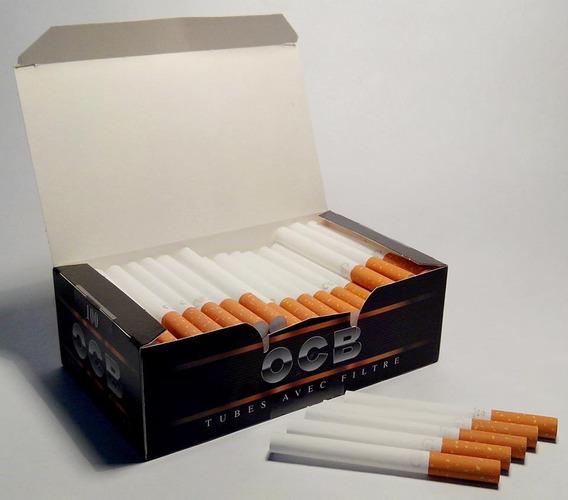 Caja De 100 Tubos De Cigarrillos Vacios Marca Ocb