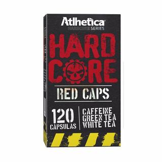 Hardcore Red Caps (120caps) - Atlhetica