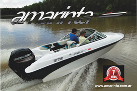 Lancha Amarinta 505 Con Mercury 75 Hp 2t 2017 Nueva 0 Hs