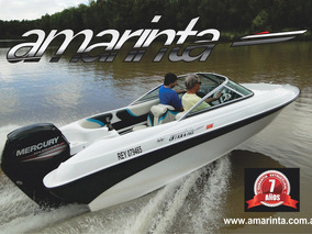 Lancha Amarinta 505 Con Mercury 75 Hp 2t 2017