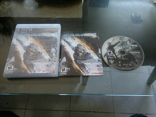 Metal Gear Rising Revengeance Completo Para Play Station 3