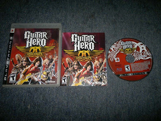Guitar Hero Aerosmith Completo Para Play Station 3, Checalo