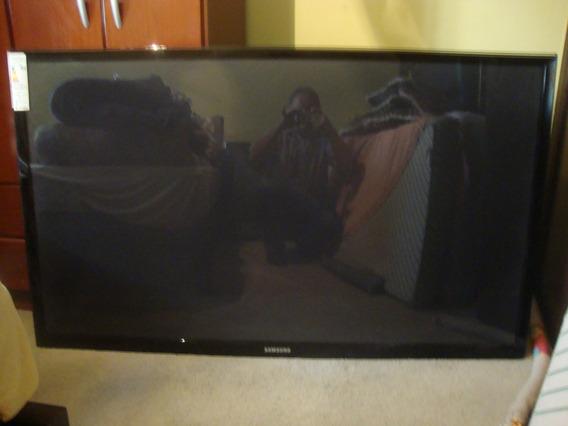 Tv Samsung 64 Plasma 3d Mod.d550cigxzd Tela Trincada.