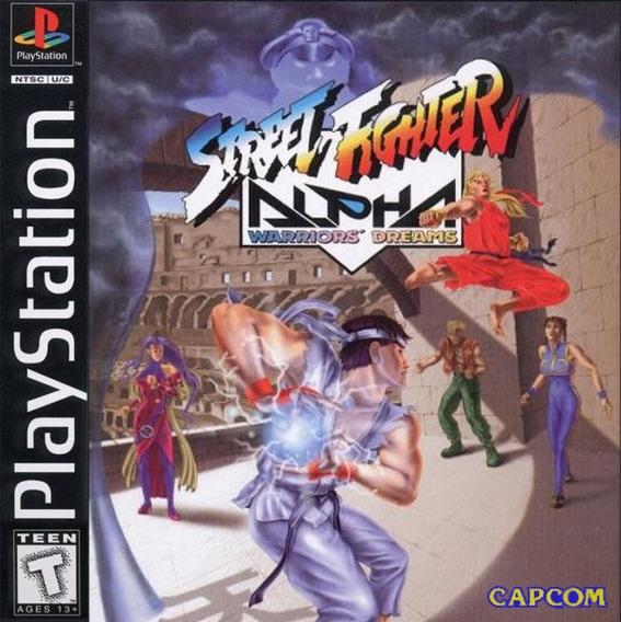 Street Fighter Alpha 1 - Playstation 1 Frete Gratis.