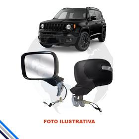 Retrovisor Ext Esq Jeep Renegade 2014-2016 - Original/jeep