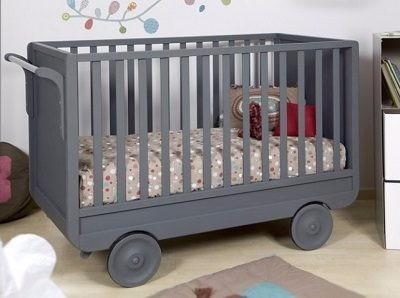 Cuna De Madera Moderna Para Bebés Minimalista
