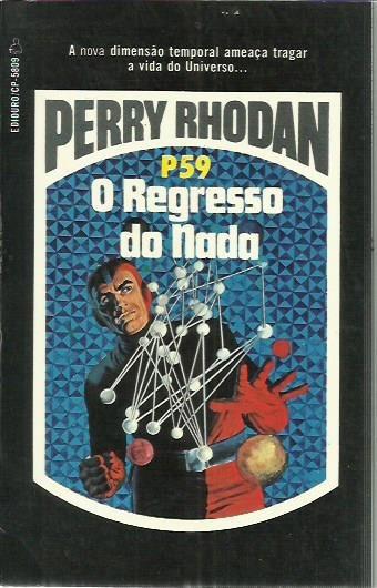 Livro Perry Rhodan P 59 O Regresso Do Nada