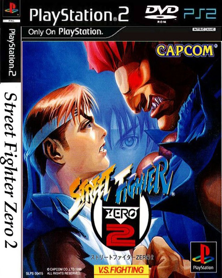 Street Fighter Zero 2 - Playstation 2 -