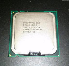 Processador Intel Xeon 3075 2.66ghz 4mb 1333 P/n Slaa3