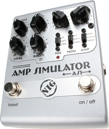 Pedal De Guitarra Nig Amp Simulator As1