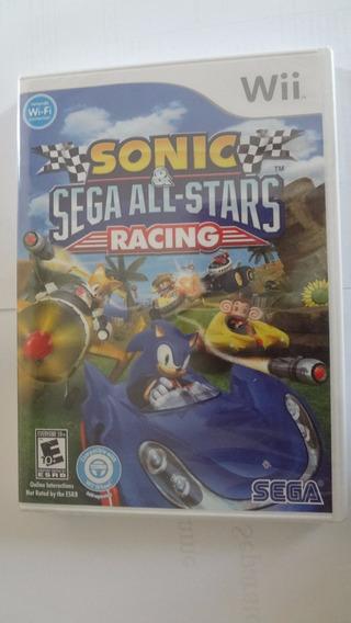 Sonic Sega All Stars Racing Nintendo Wii Novo E Lacrado