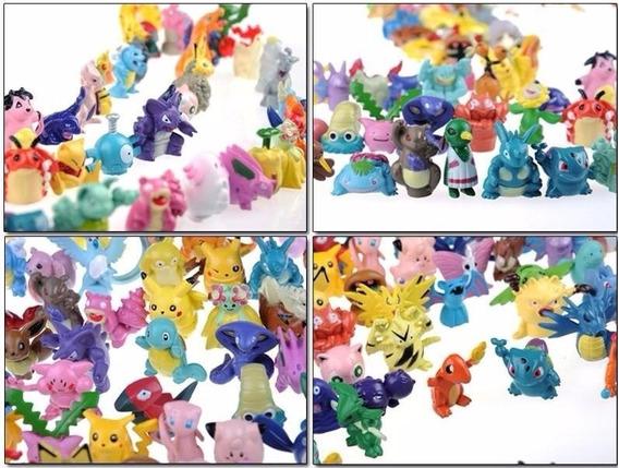160 Miniaturas De Pokémon Por R$ 265,00
