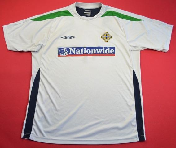 Espectacular Camiseta Umbro Seleccion De Irlanda - Importada