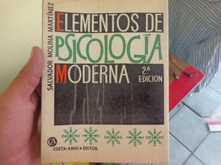 Elementos De La Psicologia Morena Salvador Molina