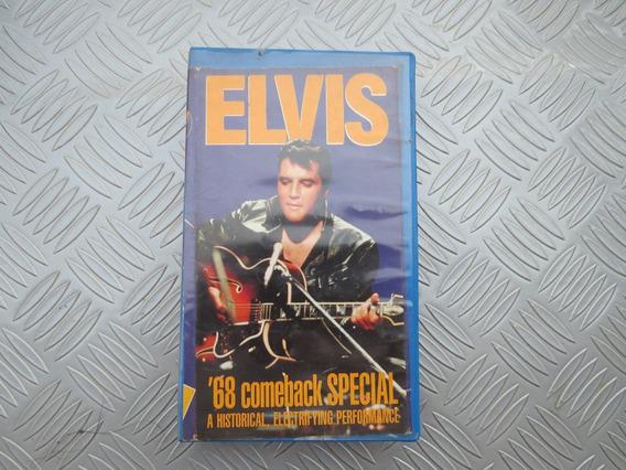 Vhs Raro Elvis Presleey 68 Come Back Special - Importado .