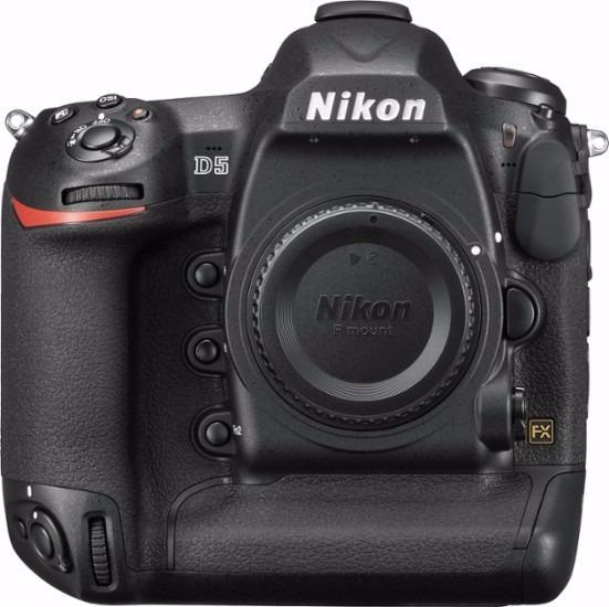 Nikond5 Dslr Camera Dual Cf Slots + Lente Sd Card E Caneta