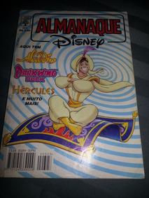 Almanaque Disney Nº 323 - Junho/1998 - Aladdin Em Apuros