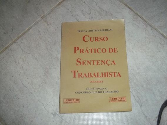Teresa Beltrani Curso Prático De Sentença Trabalhista 1