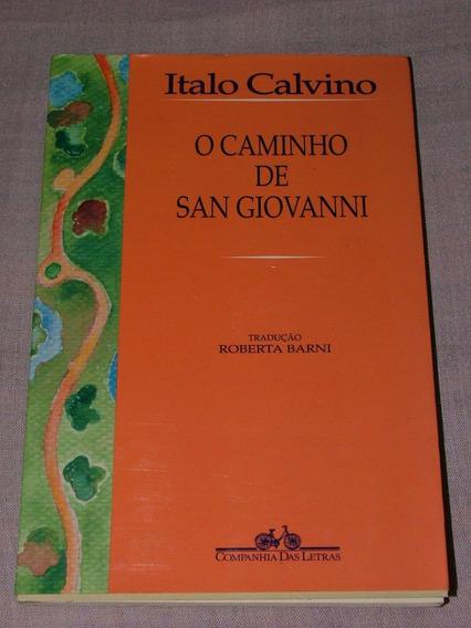 O Caminho De San Giovanni Italo Calvino Ótimo Estado