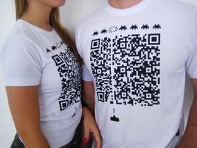 Camisa Estampa Qr Code