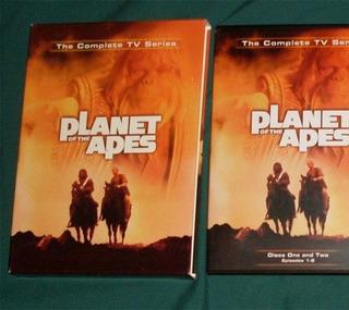 Planeta De Los Simios Serie Completa Planet Apes 4 Dvd Nuevo
