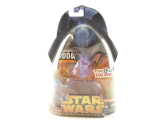 Star Wars Revenge Of The Sith Holographic Yoda (toys R Us Ex