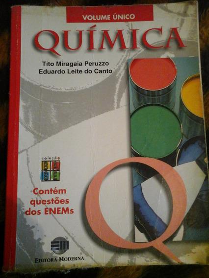 Livro Quimica (ensino Medio) Tito Miragaia Peruzzo
