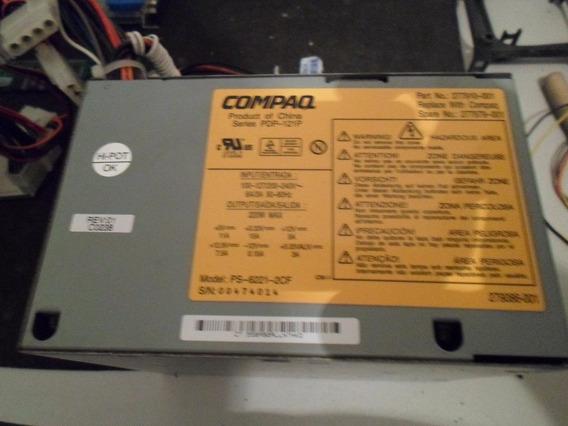 2 Fontes Compaq Modelo Ps-6221-2cf 220 W Conector 20 Pinos +