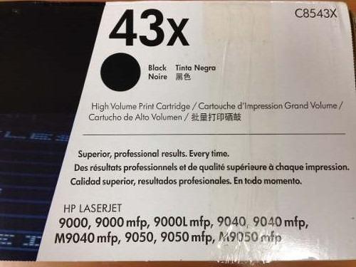 Toner 43x Hp C8543x Remanufacturado Impresora 9000 9040 9050