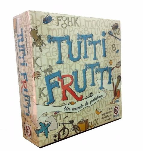 Imagen 1 de 5 de Tutti Frutti Juego De Mesa Ruibal Original Clasico Edu Full