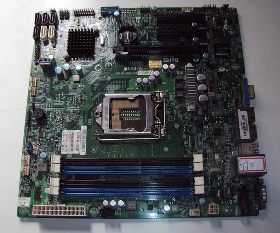 Placa Mae Servidor Intel Centrium X10sll-hf Lga1150 Defeito