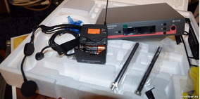 Sennheiser Ew152 Head Set Original Troco Em Moving Head