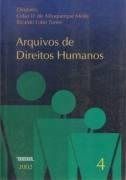 Livro Arquivos De Direitos Humanos 4 Celso D De A Mello