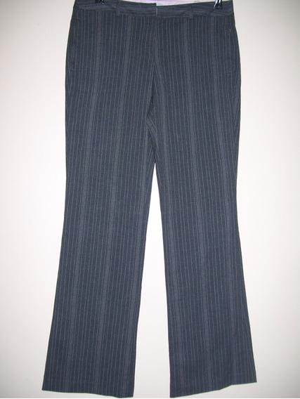 Pantalon De Vestir Mujer Elastizado Talle M