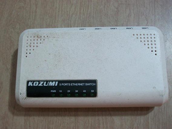 Switch De Redes Kozumi 5 Bocas