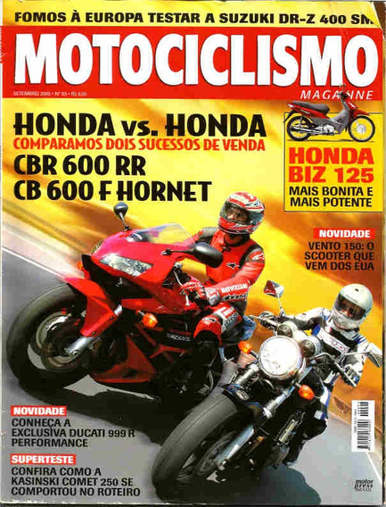 Motociclismo 93 * Cbr 600 Rr * Cb 600 F * Suzuki Dr-z 400 Sm