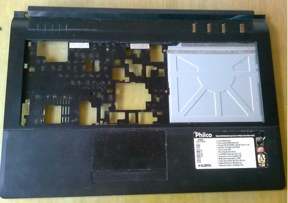 Carcaça Teclado Superior Touchpad Note Philco 14d P743lm