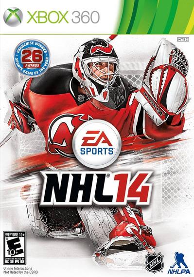 Jogo Novo Lacrado Nhl 14 Da Ea Sports Para Xbox 360