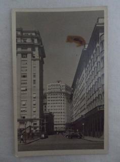 Cartão Postal Porto Alegre Rua Uruguai Rio Grande Sul