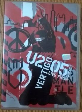 Dvd U2 Vertigo Live From Chicago 2005