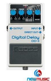 Pedal P/guitarra Boss Digital Delay Dd-3 #1070
